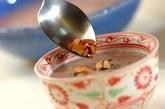 小豆の温かいチェーの作り方2
