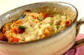 マグカップでカボチャの焼きカレーの作り方2