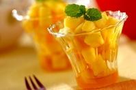 パイナップルのラム酒漬け