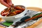 マッシュルームと厚切りベーコンのアヒージョの作り方3