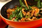 ピリ辛豚ニラ丼の作り方3