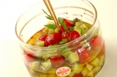 プチトマトとキウイのハニーマリネの作り方2