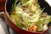 中華丼の作り方1