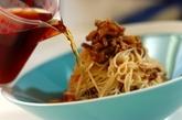 ナスとひき肉のジャージャー麺風素麺の作り方3