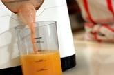 オレンジとグレープフルーツのジュースの作り方1
