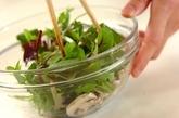 ベビーリーフのサラダの作り方2