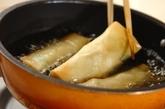 新ジャガとソラ豆の春巻きの作り方3
