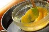 タコとキュウリの黄身酢かけの作り方1