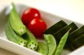 グリーン野菜のクミン炒めの作り方1