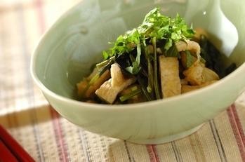 空心菜の煮浸し