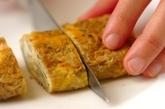 ゆかりのチーズ卵焼きの作り方3