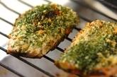 塩サバのサクサク磯辺焼き~焼き野菜添え~の作り方2