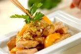 メカジキとパプリカの油淋鶏風の作り方2