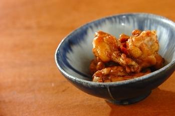 鶏手羽元の梅煮