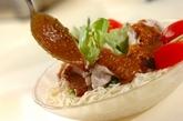 豚しゃぶのサラダ素麺の作り方3