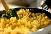 塩もみ白菜とジャコのチャーハンの作り方2