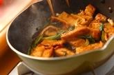 油揚げとネギの照り焼き炒めの作り方2