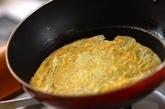 七夕のお絵かきジュレ素麺の下準備2