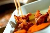 鶏肉とカボチャの南蛮漬けの作り方2