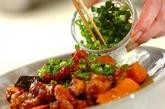 鶏肉とカボチャの南蛮漬けの作り方3