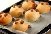 時短発酵の簡単てごねでパンダパンの作り方7