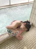 杉原杏璃 温泉湯上がり「いい感じにのぼせた」ショット公開