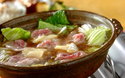 とろ~りチーズ × 和風だしが美味! 豚肉と白菜のチーズ鍋