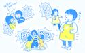 母の膝取り合戦が勃発中! 【栗生ゑゐこの1歳児観察日記Vol.5】