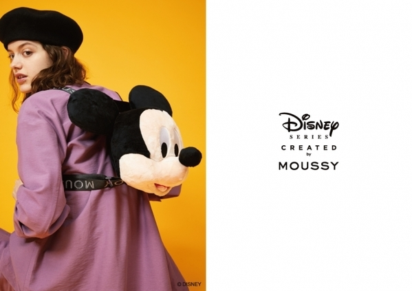 MOUSSY(マウジー)スペシャルコレクション「Disney SERIES CREATED by MOUSSY」2019 AUTUMN COLLECTION発売の1枚目の画像