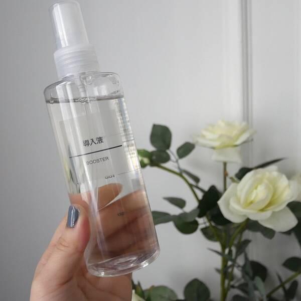 無印良品 エイジングケア導入液サッパリしてすき! ・ROZEBE Placentaシリーズ化粧水、美容液 、乳液何気なく安かったから買ったら良かったからライン買いしてみた。