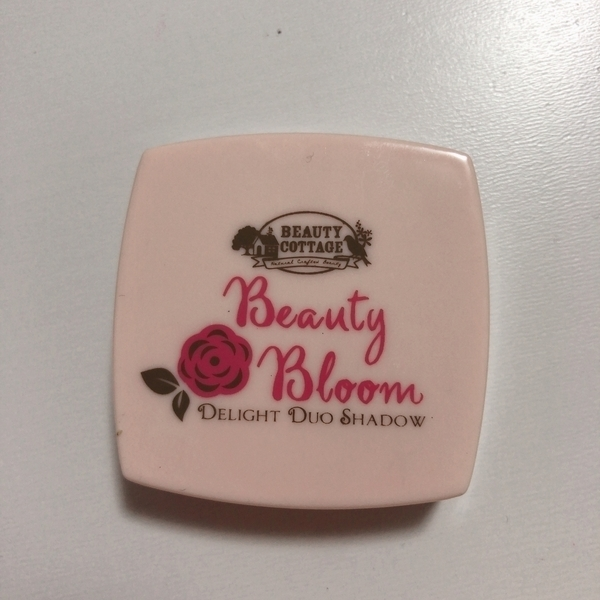 Beauty Cottageのbeauty bloom delight duo shadow purity&innocence No.01 Happy Coral