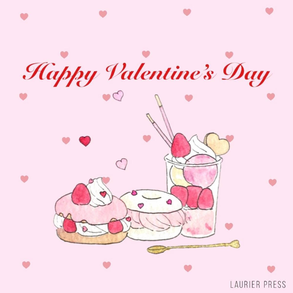 簡単いちごスイーツの作り方 おうちバレンタインにもぴったり イラスト ローリエプレス