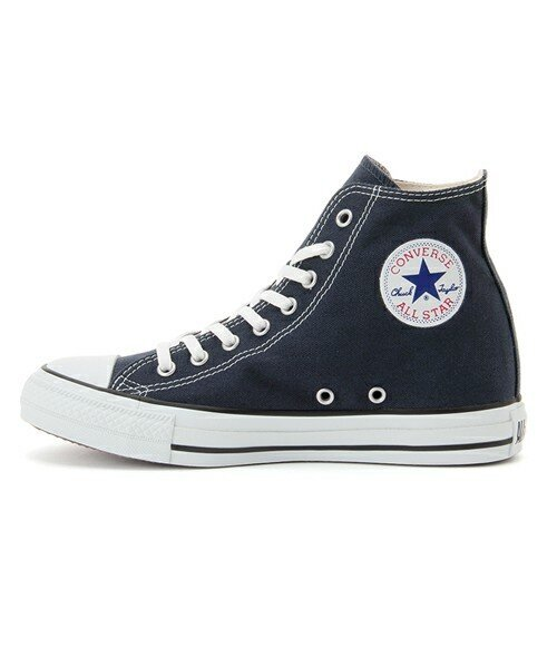 CONVERSE ALL STAR INHEEL HI (ネイビー) (17SP)