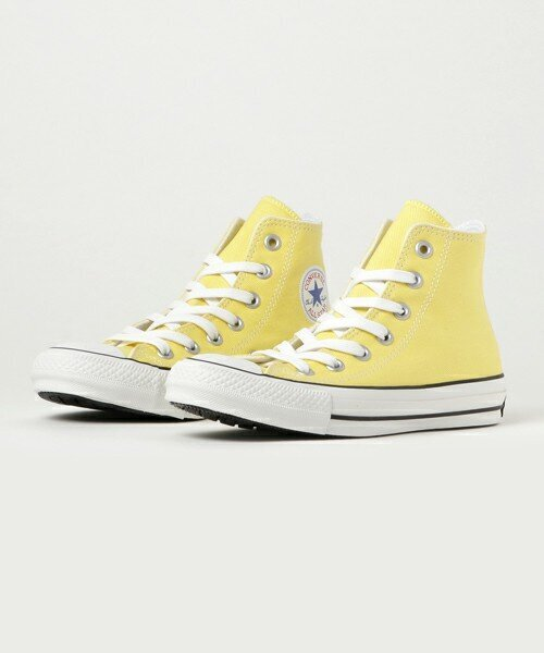 CONVERSE ALL STAR 100 COLORS HI LEMON