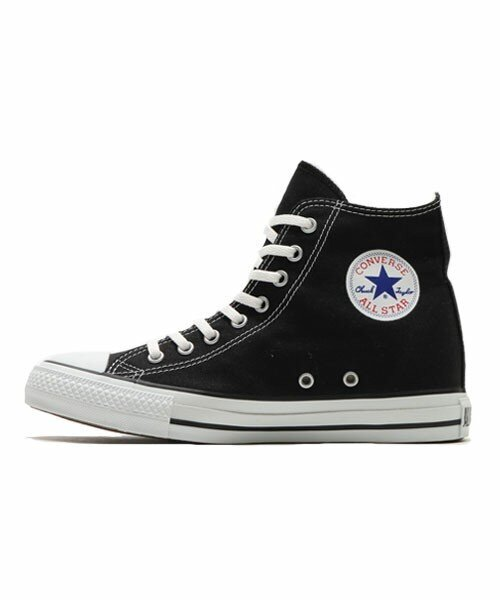 CONVERSE ALL STAR INHEEL HI (BLACK) (17FA)
