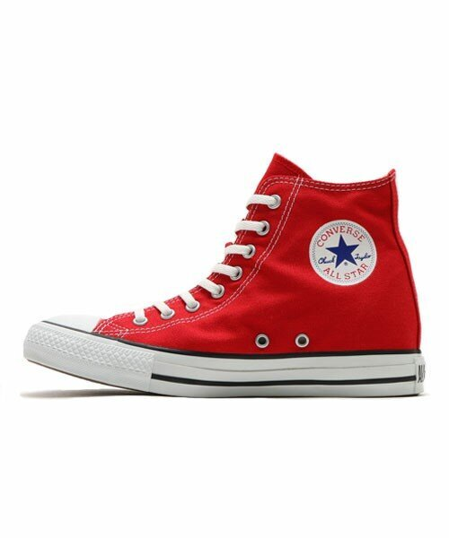 CONVERSE ALL STAR INHEEL HI (RED) (17FA)