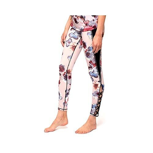 urbanretreat(アーバンリトリート) Lace up perfect legging【61 Pink Flower/S】