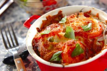 野菜のこんがりチーズ焼き