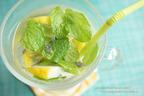 カラダの中から美しく! 注目のスーパーフード活用レシピ!3 ~チアシードとレモンのモヒート風フレーバーウォーター~