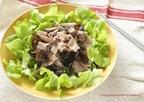 【簡単妊活レシピ】鉄分たっぷり! 牛肉とキクラゲの鉄分補給サラダ