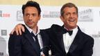 ロバート・ダウニーJr.、映画賞授賞式壇上でメル・ギブソンとの男の約束を果たす