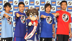 SAMURAI BLUEが本人役で『コナン』に出演! 史上初のJリーグコラボ決定