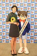 榮倉奈々、『名探偵コナン』で5年ぶりの声優挑戦!「自分自身楽しんでやれたら」