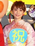 """大島優子、""""推しメン""""クリームパンダと初対面 「意外と大きいですね…」と苦笑い"""