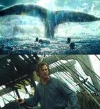 【特別映像】クリス・ヘムズワースvs30m超え史上最大級の巨大鯨…『白鯨との闘い』