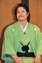 ふっくら松山ケンイチ、貫禄の和服姿で落語家デビュー!?