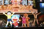 小島よしお&エヴァちゃん、ドラえもんと新日本プロレス試合に参戦!?