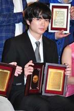 染谷将太、日プロ主演男優賞も自身に憧れる若手に「俺に憧れると痛い目に遭う!」と警告