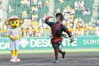 中村勘九郎、猿飛佐助でノーバウンド始球式! 「自分でも驚き」