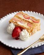 【3時のおやつ】キハチを代表するデザート、苺たっぷりのナポレオンパイ期間限定発売!